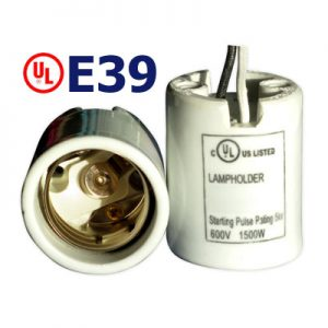 E39 UL Listed Lampholders 821108-0