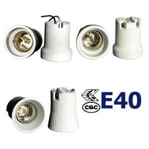 E40 ENEC CQC Lampholders