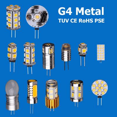 Metal Material G4 LED Bulb