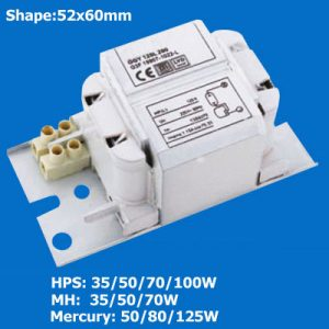 HID Ballast for HPS/MH/HPM Lamps