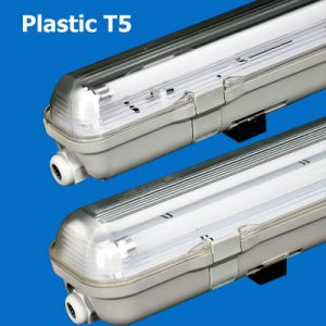 Plastic T5 Waterproof Lighting