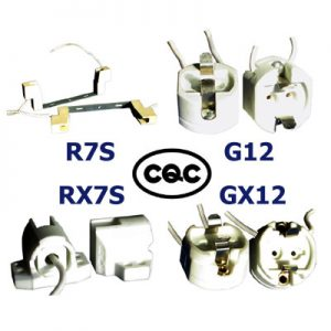 R7S RX7S G12 GX12 CQC Lampholders