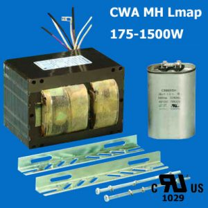 UL/CUL CWA Ballast for Metal Halide Lamps