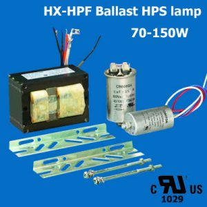 HPS lamp HX-HPF Ballast UL cUL listed